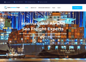 Sydneyinternationalfreight.com.au