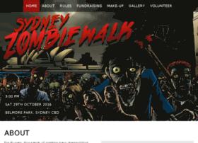 sydneyzombiewalk.com