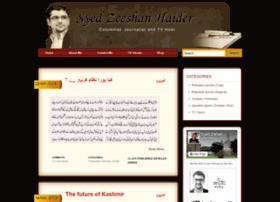 syedzeeshanhaider.com