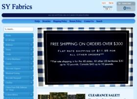 syfabrics.com