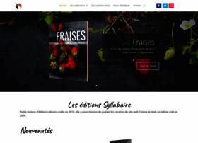 syllabaire-editions.com