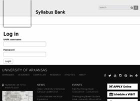 syllabus.uark.edu