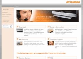 sylvaniaconsumerelectronics.com
