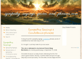 sympathy-sayings-quotes-and-phrases.com