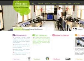 symphonylifesciences.com