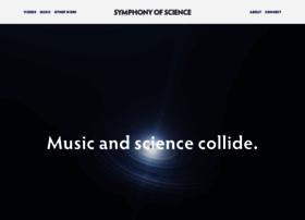 symphonyofscience.com