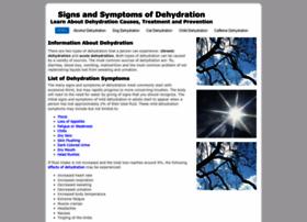 symptomsofdehydration.com