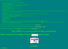 syncterm.bbsdev.net