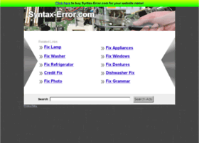 syntax-error.com