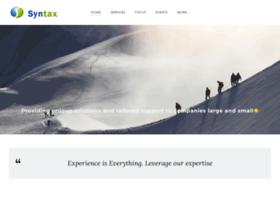 syntaxinc.com