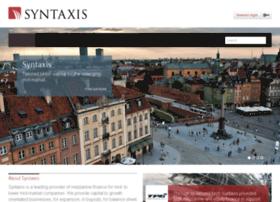 syntaxis-capital.com