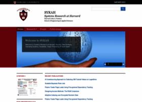 syrah.eecs.harvard.edu