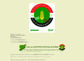 syrian-agriculture.org
