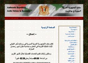 syrianembassy.ro