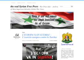 syrianfreepress.wordpress.com