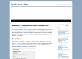 sysnucleus-blog.com