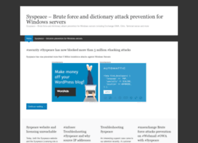 syspeace.wordpress.com