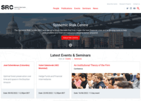 systemicrisk.ac.uk