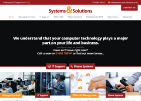 systems-and-solutions.co.uk