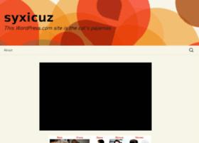 syxicuz.wordpress.com