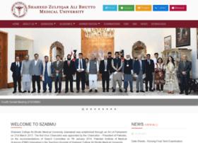 szabmu.edu.pk
