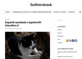 szellemvarosok.hu