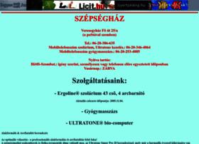 szepseghaz.ingyenweb.hu