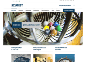 szutest.com.tr