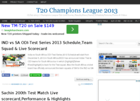 t20championsleague2013.com
