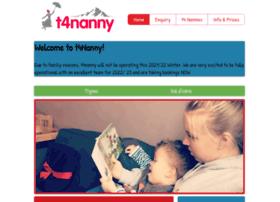 t4nanny.com