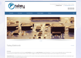 tabeyelektronik.com