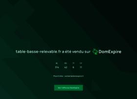 table-basse-relevable.fr