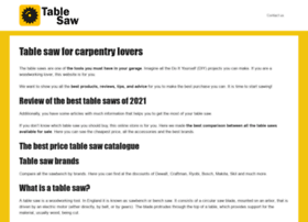 table-saw.org