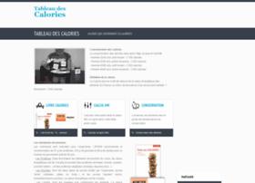 tableau-calories.com