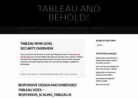 tableauandbehold.com