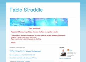 tablestraddle.blogspot.com