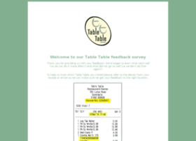 Tabletablefeedback.co.uk