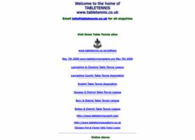 tabletennis.co.uk