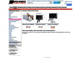 tabletennis.epicsports.com
