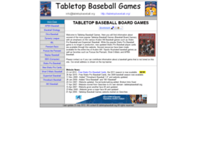tabletopbaseball.org