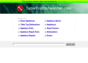 tabletopdishwasher.com