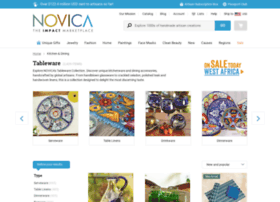 tableware.novica.com
