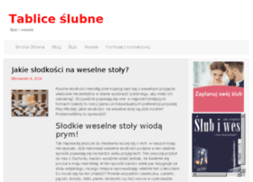 tabliceslubne.pl