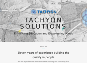 tachyonsolutions.in