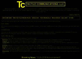 tactilecommunications.org