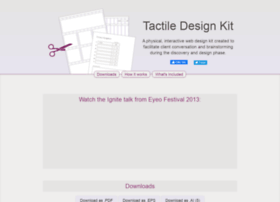 tactiledesignkit.com