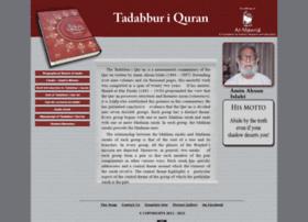 tadabbur-i-quran.org