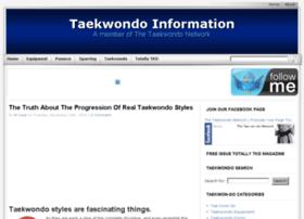 taekwondo-information.com