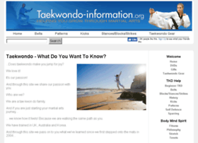 taekwondo-information.org