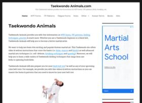 taekwondoanimals.com